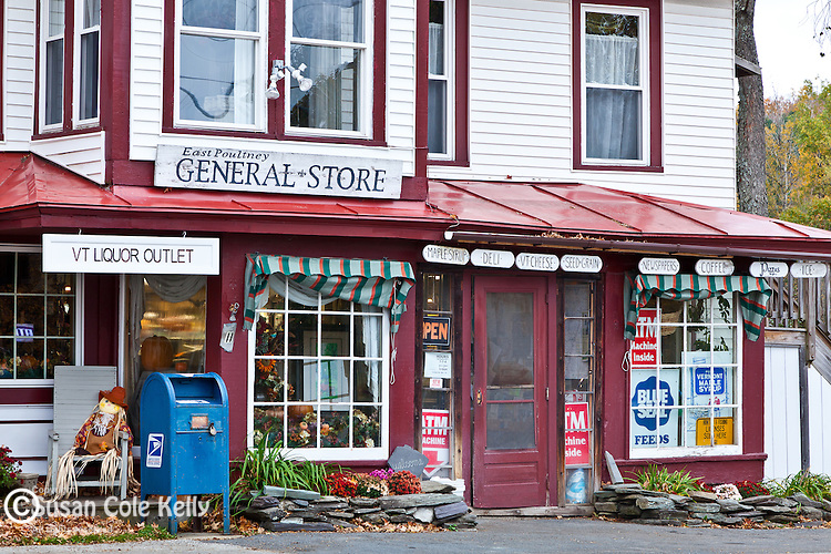 The general store in East Poultney, VT, USA
