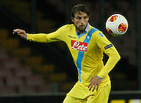 Adriano Henrique <br /> <br />  UEFA Europa League round of 32 second  leg match, betweenAC  Napoli  and Swansea City   at San Paolo stadium in Naples, Feburary 27 , 2014