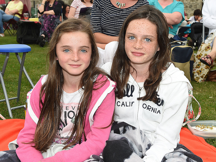 Orla and Róisín Kearney pictured at Wuthering Heights at Oldbridge House. Photo:Colin Bell/pressphotos.
