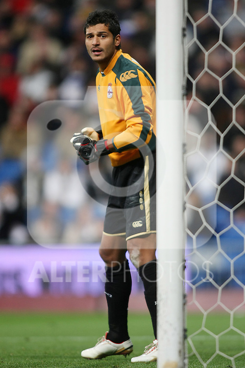 Deportivo de la Coruna's Gustavo Adolfo Munua during La Liga match.January 25 2009. (ALTERPHOTOS/Acero).