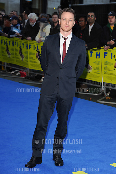"James McAvoy arriving for the ""Filth"" premiere at the Odeon Leicester Square, London. 30/09/2013 Picture by: Steve Vas / Featureflash"