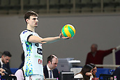 20th March 2018, PalaTrento, Trento, Italy; CEV Volleyball Champions League, playoffs, 1st leg; Trentino Diatec versus Chaumont VB 52 Haute Marne; 9 Giannelli Simone ITA ready to serve