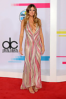 LOS ANGELES, CA - NOVEMBER 19: Heidi Klum at the 2017 American Music Awards at Microsoft Theater on November 19, 2017 in Los Angeles, California. Credit: David Edwards/MediaPunch /NortePhoto.com