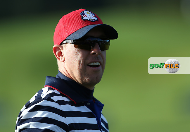 Hunter Mahan (USA) during the 2014 Ryder Cup from Gleneagles, Perthshire, Scotland. Picture:  David Lloyd / www.golffile.ie