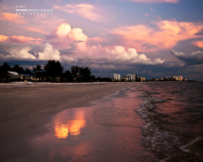 Sunset Clouds at Fort Myers Beach, Florida