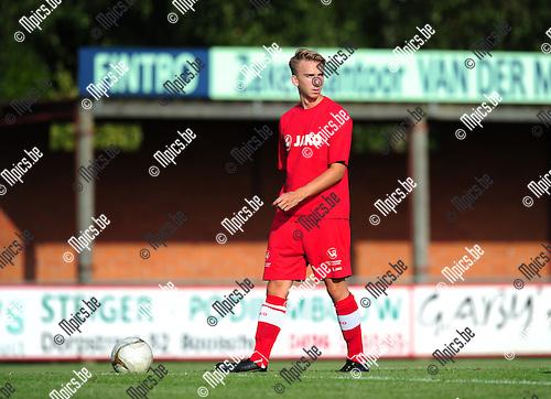 2014-07-22 / Voetbal / seizoen 2014-2015 / KFC Houtvenne / Cedric Laeremans<br /><br />Foto: mpics.be