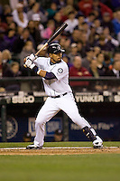 May 19, 2010: Seattle Mariners' Franklin Gutierrez (21) at-bat during a game against the Toronto Blue Jays at Safeco Field in Seattle, Washington.