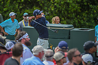Adam Scott (AUS) watches his tee shot on 10 during round 3 of The Players Championship, TPC Sawgrass, at Ponte Vedra, Florida, USA. 5/12/2018.<br /> Picture: Golffile | Ken Murray<br /> <br /> <br /> All photo usage must carry mandatory copyright credit (&copy; Golffile | Ken Murray)