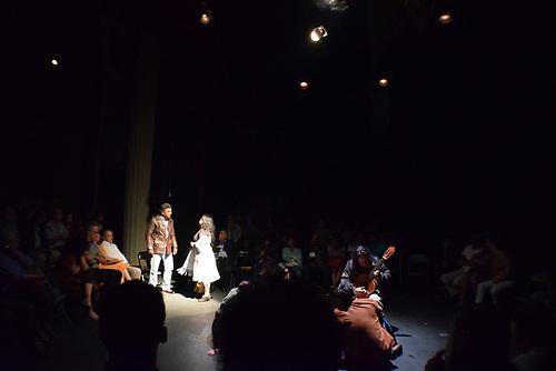 Obra Mendoza, grupo Los Colochos (Mex.), Festival Internacional de Teatro de Santo Domingo 2018. Foto, Canek Denis