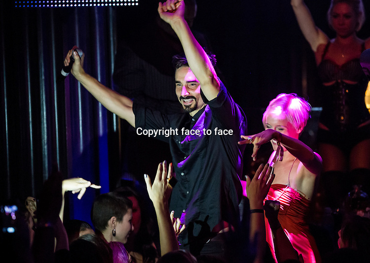 LAS VEGAS, NV - September 7: Backstreet Boys Official after concert party at Body English Nightclub at Hard Rock Hotel &amp; Casino on September 7, 2013 in Las Vegas, Nevada. &Acirc;&copy; KabikRTN / MediaPunch Inc.<br />
