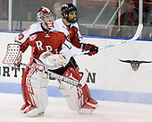 Allen York (RPI - 30), Mike Bergin (RPI - 8) - The visiting Rensselaer Polytechnic Institute Engineers tied their host, the Northeastern University Huskies, 2-2 (OT) on Friday, October 15, 2010, at Matthews Arena in Boston, MA.