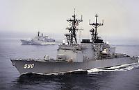- US destroyer Moosbrugger and Italian frigate Euro<br /> <br /> - cacciatorpediniere USA Moosbrugger e fregata italiana EURO