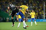 Neymar (BRA), <br /> AUGUST 20, 2016 - Football / Soccer : <br /> Men's Final between Brasil - Germany <br /> at Maracana <br /> during the Rio 2016 Olympic Games in Rio de Janeiro, Brazil. <br /> (Photo by Koji Aoki/AFLO SPORT)