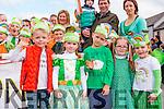 Cathal cronin, Roisin Mcaulliffe, Jerimiah O'connor, Ava Murphy Jessica Dohery at the Rathmore St Patricks parade on Sunday
