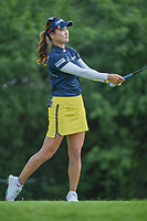 So Yeon Ryu (KOR) watches her tee shot on 11 during round 3 of the 2018 KPMG Women's PGA Championship, Kemper Lakes Golf Club, at Kildeer, Illinois, USA. 6/30/2018.<br /> Picture: Golffile | Ken Murray<br /> <br /> All photo usage must carry mandatory copyright credit (&copy; Golffile | Ken Murray)