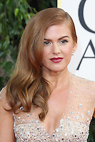 BEVERLY HILLS, CA - JANUARY 13: Isla Fisher at the 70th Annual Golden Globe Awards at the Beverly Hills Hilton Hotel in Beverly Hills, California. January 13, 2013. Credit: mpi29/MediaPunch Inc. /NortePhoto