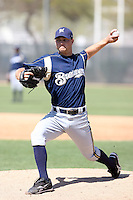 Chris Cody, Milwaukee Brewers 2010 minor league spring training..Photo by:  Bill Mitchell/Four Seam Images.