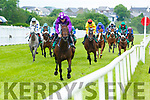 Racing action at the Listowel Races on Sunday.