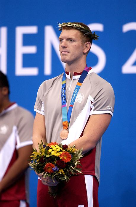 Brian Hull a obtenu la médaille de bronze au 400 mètres nage libre aux jeux paralympiques (Jean-Baptiste Benavent 20 septembre).