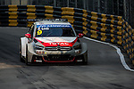 Sebastien Loeb races the FIA WTCC during the 61st Macau Grand Prix on November 14, 2014 at Macau street circuit in Macau, China. Photo by Aitor Alcalde / Power Sport Images