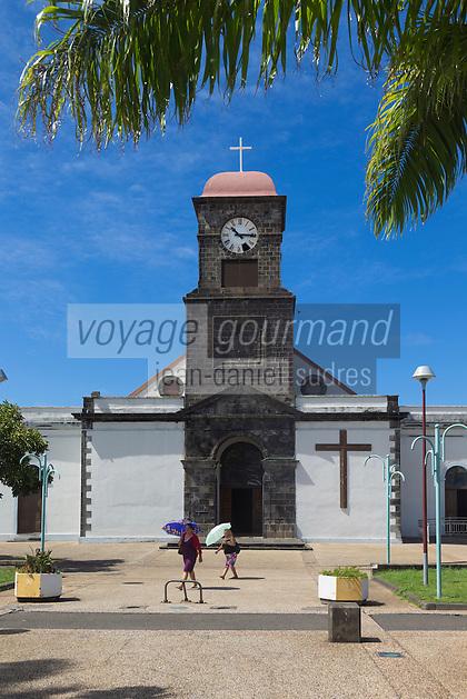 France, île de la Réunion, Saint Joseph, l'église // France, Ile de la Reunion (French overseas department), Saint Joseph, the church