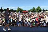 EMMEN - Opendag FC Emmen , Oude Meerdijk, seizoen 2018-2019, 15-07-2018,  vol voorplein