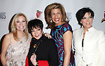 Kathie Lee Gifford, Liza Minnelli, Hoda Kotb, Kris Jenner attending the Broadway Opening Night Performance After Party for 'Scandalous The Musical' at the Neil Simon Theatre in New York City on 11/15/2012