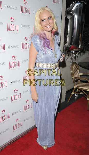 LONDON, ENGLAND - JULY 24: Kitty Brucknell attends the JuiceToU 1st anniversary &amp; re-branding party, Sanctum Soho Hotel, Warwick St., on Thursday July 24, 2014 in London, England, UK. <br /> CAP/CAN<br /> &copy;Can Nguyen/Capital Pictures