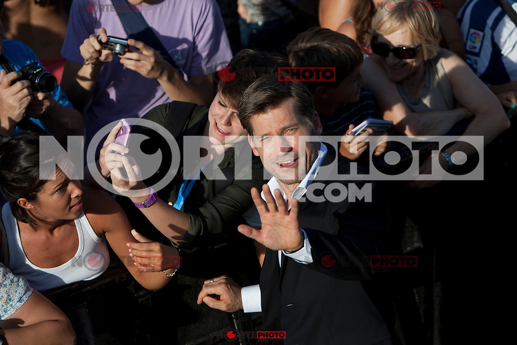 Danish actor Nikolaj Coster-Waldau presents the film 'A Second Chance' during the 62st San Sebastian Film Festival in San Sebastian, Spain. September 21, 2014. (ALTERPHOTOS/Caro Marin)
