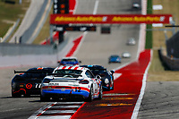 IMSA Continental Tire SportsCar Challenge<br /> Advance Auto Parts SportsCar Showdown<br /> Circuit of The Americas, Austin, TX USA<br /> Friday 5 May 2017<br /> 12, Porsche, Porsche Cayman GT4, GS, Cameron Cassels, Trent Hindman<br /> World Copyright: Jake Galstad<br /> LAT Images