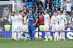 Getafe´s Roberto Lago during La Liga match at Santiago Bernabeu stadium in Madrid, Spain. December 05, 2015. (ALTERPHOTOS/Victor Blanco)