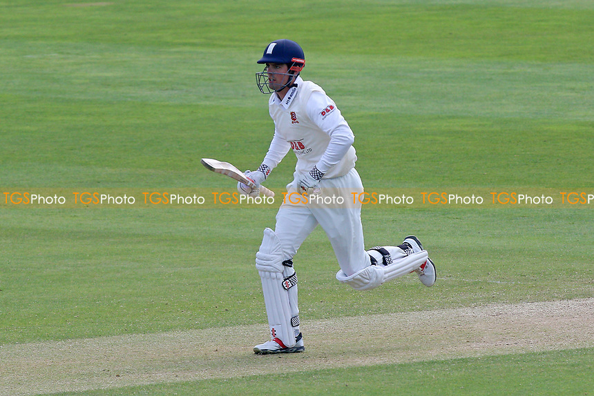 Alastair Cook in batting action for Essex during Somerset CCC vs Essex CCC, Specsavers County Championship Division 1 Cricket at The Cooper Associates County Ground on 16th April 2017