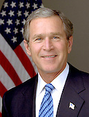 Official Portrait of the 43rd President of the United States George Walker Bush taken at the White House in Washington, D.C. on January 14, 2003..