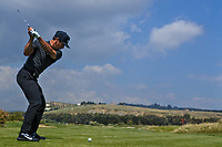 Thorbjorn Olesen (DEN) on the 8th tee during Round 2 of the Rocco Forte Sicilian Open 2018 on Friday 11th May 2018.<br /> Picture:  Thos Caffrey / www.golffile.ie<br /> <br /> All photo usage must carry mandatory copyright credit (&copy; Golffile | Thos Caffrey)