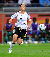 Alexandra Popp of team Germany during the FIFA Women's World Cup at the FIFA Stadium in Frankfurt, Germany on June 30th, 2011.