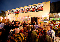 1100 Springs perform during a live recording concert at the Double Wide in Dallas, Texas, Saturday, January 10, 2008. The local country-bluegrass  band filled the venue to capacity...PHOTOS/ MATT NAGER