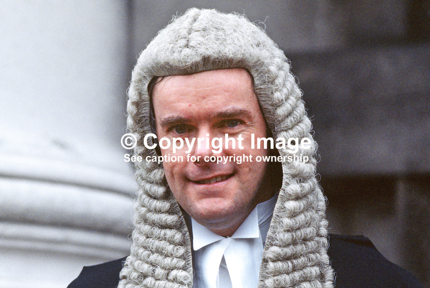 Terence Mooney, QC, barrister, N Ireland, UK, 19850003TM.<br />