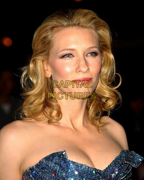 CATE BLANCHETT.Arrives at The Times BFI 51st London Film Festival UK premiere of Elizabeth - The Golden Age at the Odeon Leicester Square in London, England, October 23, 2007..portrait headshot.CAP/CAS.©Bob Cass/Capital Pictures.