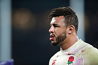 Courtney Lawes of England looks on after the match. Natwest 6 Nations match between England and Wales on February 10, 2018 at Twickenham Stadium in London, England. Photo by: Patrick Khachfe / Onside Images
