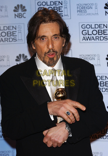 AL PACINO.61st Annual Golden Globe Awards.25 January 2004.award winner.www.capitalpictures.com.sales@capitalpictures.com.©Capital Pictures.