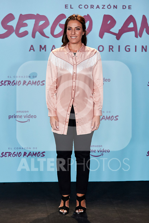 "Eli Pinedo attends to ""El Corazon De Sergio Ramos"" premiere at Reina Sofia Museum in Madrid, Spain. September 10, 2019. (ALTERPHOTOS/A. Perez Meca)"