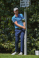 Daniel Berger (USA) hits a second tee shot on 2 during round 3 of the World Golf Championships, Mexico, Club De Golf Chapultepec, Mexico City, Mexico. 3/3/2018.<br /> Picture: Golffile | Ken Murray<br /> <br /> <br /> All photo usage must carry mandatory copyright credit (&copy; Golffile | Ken Murray)
