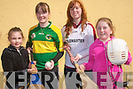The Kerry Camogie County Board are calling on all Camogie enthusiasts in Castleisland and the surroundings areas to come forward to set up a new Camogie club in the area. .L-R Maeve Young, Sara Murphy, Patrice Diggin and Julie O'Connor