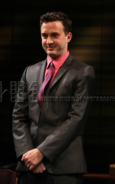 Eddie Kaye Thomas.during the Curtain Call for the MCC Theater World Premiere Production of 'The Submission' at the Lucille Lortel Theatre in  New York City.