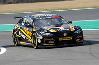Round 10 of the 2018 British Touring Car Championship.  #25 Matt Neal. Halfords Yuasa Racing. Honda Civic Type R.