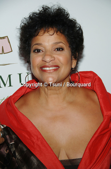 Debbie Allen arriving at the OUR STORIES FILMS Launch Party at the Social Club in Hollywood, Los Angeles.<br /> <br /> headshot<br /> eye contact<br /> smile