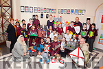 Children from third and fifth class in Moyderwell Primary School in Tralee were delighted on Friday when they paid a visit to Kerry County Museum to collect their prizes after their entry into the Tralee 800 competition was chosen as a winner.
