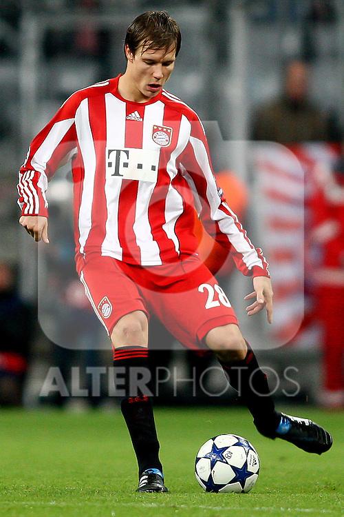 19.10.2010, Allianz Arena, Muenchen, GER, UEFA CL, FC Bayern Muenchen vs CFR 1907 Cluj , im Bild Holger Badstuber (Bayern #28)  , Foto © nph / Straubmeier