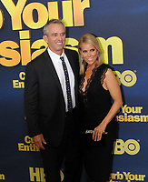 www.acepixs.com<br /> <br /> September 27 2017, New York City<br /> <br /> Robert F. Kennedy Jr. and Cheryl Hines arriving at the premiere of Season 9 of 'Curb Your Enthusiasm' at the SVA Theater on September 27, 2017 in New York City. <br /> <br /> By Line: William Jewell/ACE Pictures<br /> <br /> <br /> ACE Pictures Inc<br /> Tel: 6467670430<br /> Email: info@acepixs.com<br /> www.acepixs.com