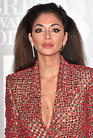 Nicole Scherzinger<br /> The Brit Awards at the o2 Arena, Greenwich, London, England on February 22, 2017.<br /> CAP/PL<br /> &copy;Phil Loftus/Capital Pictures /MediaPunch ***NORTH AND SOUTH AMERICAS ONLY***